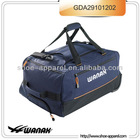 sports duffel bag with trolley bag