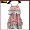 2013 wholesale fashion design pink hot birthday girl dress