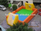 The Newest inflatable soccer playground