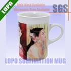 10oz Sublimation Mug-Curled Rim