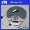 Calculator Mouse Pad With USB HUB
