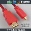 HS-801AD,micro hdmi cable,good quality micro hdmi extension cable,d sub hdmi cable