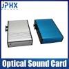 USB 2.0 External 7.1CH Optical Xear recording 3D Sound Card - Black