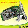 Geforce GT210 1GB PCI-E Graphics Games Card