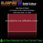 Plywood with UV coating - solid color series