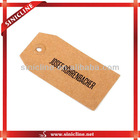 kraft paper tag with cotton string for garments