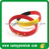 Print silicone wristband /bracelet
