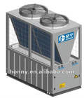 Low ambient temperature EVI air to water(air source) heat pump three in one unit(HVAC central air conditioner 50kW 60kW)