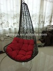 2012 hot morden rattan swing chair