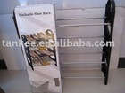 Shoes Rack/Portable Height And Width Shoes Rack/Plastic Steel tube Rack