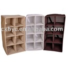 8 lattice non-woven shoes shelf