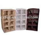 8 lattice non-woven shoes shelf