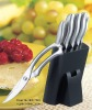 Hollow handle modern kitchen knife