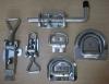 trailer parts and door lock