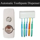 Touch Me Automatic Toothpaste Dispenser with clock