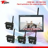 RV-7001WS 7inch wireless car rearview system with 4CH display switch & CMOS/CCD camera