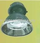 Vintage porcelain industrial gas station light