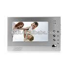 Cheap 7 Inch LCD Wide Angel IR Night Vision Wired Video Doorphone Intercom System With Photo Take
