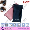 Promotional fashion microfiber drawstring bags