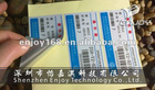7 years professional printing experience adhesive label asset labels