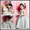 Stlye (LG50024) Popular Design Oversea Applique Organza Flower Girl Dress