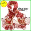 2012 newest fashion Cotton Voile Printed Long Scarf (FB010819)