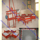 Blackboard dustless chalk making machine