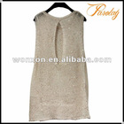 Ladies lurex skirt for women sweater with sequins