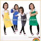 Polyester kids overclothes aprons