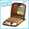 2012 pen translation QM990 with leather bag Azan clock and FM radio function