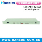 16E1 PDH Optical Multiplexer with 1*RS232 and 1*10/100M Ethernet