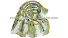 fashion 2013 newest zebra pattern polyester scarf