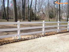 2-Rail / 3-Rail / 4-Rail vinyl farm PVC fenceing