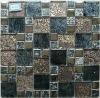 gold leaf mosaic tile
