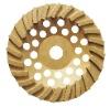 segmented turbo row cup grinding wheel