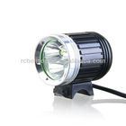 Kinfire Y3 3600 Lumens 4-Mode 3*Cree-T6 Bright White Light LED Headlamp with Adjustable Head Strap/Battery Pack (Black)