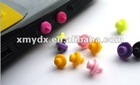 Soft Silicone Dustproof Plug For Mac book Pro and Air, 9 color for optional