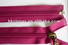 7# open end colored nylon zipper