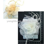 artificial white rose flower