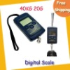 Digital hanging scale 40kg/20g,MOQ=10