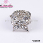 New Coming Fashion Butterfly Ring,Adjustable Fancy Ring - PYR2084