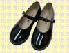 black patent leather baby shoes (cute baby shoes; PU leather baby shoes; flat baby shoes summer)