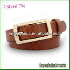 Cowhide Leather Belt Women