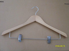 wood hangers for garment export