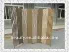 handmade folding paper rope screen
