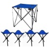 fishing/beach folding chair / stool and table