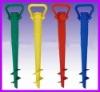 plastic helical drill umbrella stand