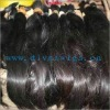 unprocess natural color natural straight100% virgin brazilian remy hair bulk paypal accept