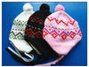 Winter Knitted Children's Earflap Hat