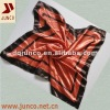 SATIN SCARF 1218 new fashion scarf,polyester printed flower square scarf